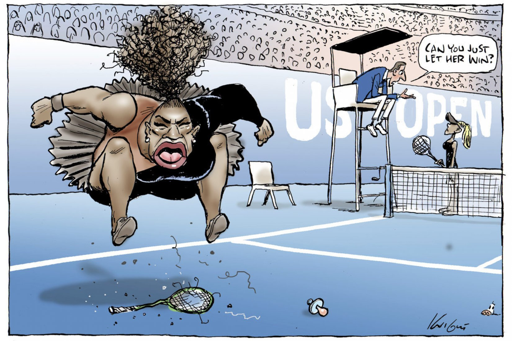 Serena na US Open 2018